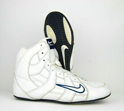 $ CDN298.67 • Buy Nike Speedsweep 3 Wrestling Shoes Size 10 (2003) White Blue Leather RARE