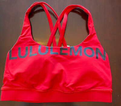 $ CDN52 • Buy Lululemon Energy Bra Size 4 20Y Collection Dark Red Rare🦄 Collectable