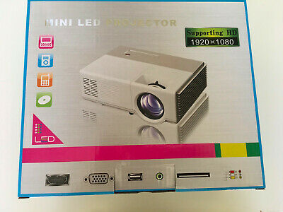 AU80 • Buy Mini Portable LED Home Theater Bluetooth Wireless HDMI Projector Smart LCD