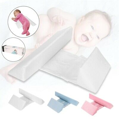 £9.49 • Buy Infant Baby Adjustable Side Sleep Pillow Support Wedge Newborn Anti-roll Cushion
