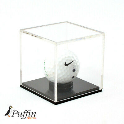£13.99 • Buy Golf Ball Display Case With Black Base