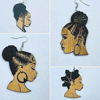 £3.29 • Buy Afrocentric Engraved Ethnic Fashion Earrings - 6 Options