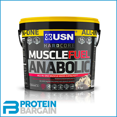 £45.99 • Buy USN Muscle Fuel Anabolic All In One 4kg - 26 Serve - Cookies & Cream Flavour