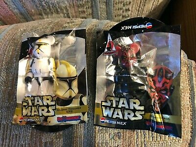 $41 • Buy Star Wars Bearbrick  Pepsi  Celebration  Japan  2008  Clone Trooper & Death Maul