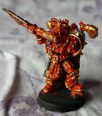 AU35 • Buy Khorne Lord - Metal - Chaos Space Marine - 40K OOP
