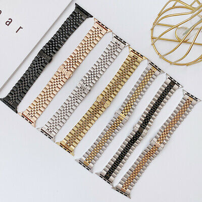 AU18.99 • Buy  For Apple Watch Band Series SE 6 5 4 3 2 1 Stainless Steel Bracelet Strap 42/44