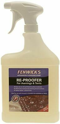 Awning Re-Proofer 1 Litre Spray Gazebo Tent Canvas Waterproof Protection • 11.11£
