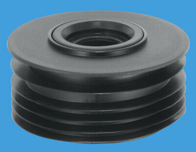 £10 • Buy McAlpine 4  110MM Soil Drain Connector & 1¼  - 1½  Waste Pipe Connection DC2-BL