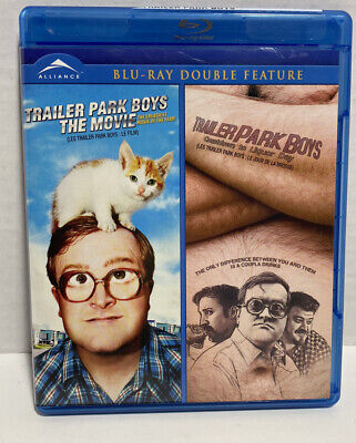 £21.62 • Buy Trailer Park Boys: The Movie / Countdown To Liquor Day Blu-Ray Double Feature