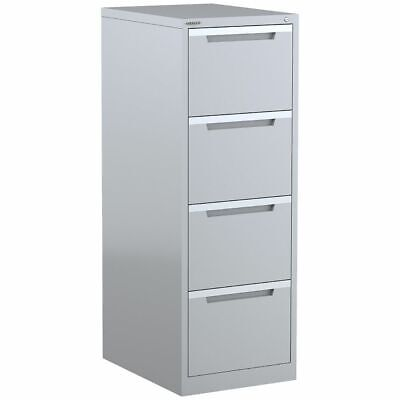 AU339 • Buy Steelco 4 Drawer Filing Cabinet Silver Grey