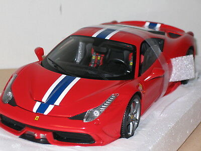 1/18 Hot Wheels Elite Ferrari 458 Speciale , Red , New , Bly31 • 144.82£