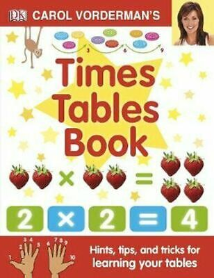 £8.23 • Buy Carol Vorderman's Times Tables Book Hints, Tips And Tricks Hardcover