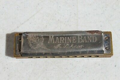 $22.99 • Buy Vintage M. Hohner Marine Band Harmonica  Made In Germany Key Of C  A440