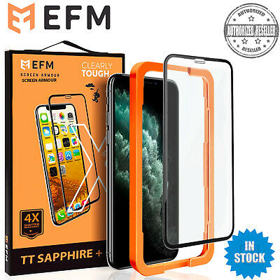 AU9.95 • Buy For Apple IPhone 11 X XS Max XR 8 7 6 Plus EFM Tempered Glass Screen Protector