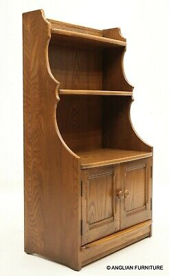 £257 • Buy Ercol Waterfall Bookcase Lower Cupboard Golden Dawn VGC FREE UK Delivery*