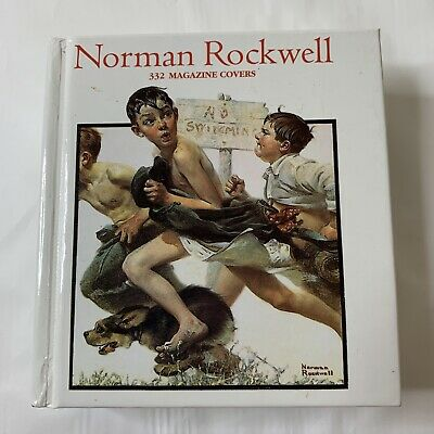 $ CDN6.26 • Buy Norman Rockwell: 332 Magazine Covers, Christopher Finch, Tiny Mini Folio Book