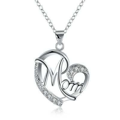 AU13.35 • Buy Gifts For Her Valentines / Mothers Day Sevil 18K Rose GP Opal Heart Necklace