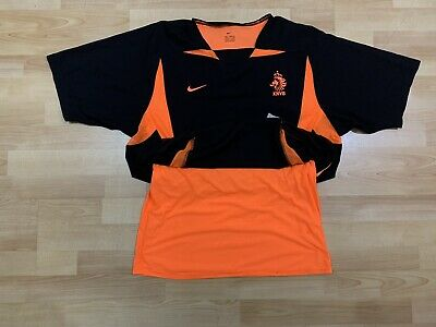 Netherlands Away Football Shirt 2002/2004 Jersey Nike Player Issue Holland Rare • 49£