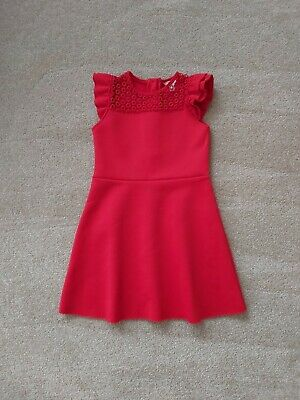 AU18.06 • Buy RIVER ISLAND Girls Age 3-4 Years Red Summer Dress Excellent Condition