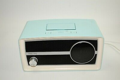 AU59.02 • Buy Phillips Retro FM Radio Alarm Clock 30 PIN IPod IPhone Speaker Dock ORD2100B/37