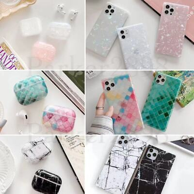 AU7.05 • Buy Case For IPhone 12 11 Pro XR XS Max 8 7 Plus AirPods Square Case Shockproof TPU