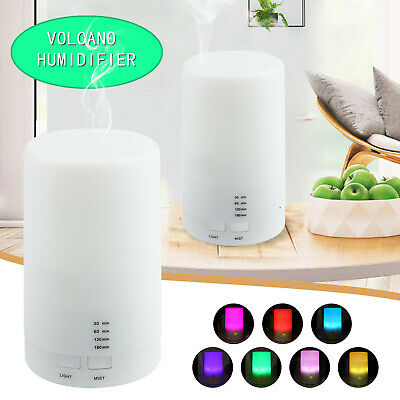 AU18.89 • Buy USB Air Aroma Aromatherapy Diffuser Oil Electric Air Humidifier Essential LED