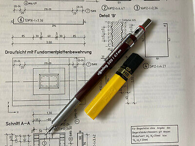 $75 • Buy Vintage Mechanical Pencil ROTRING 500 ::: 0.9 Mm ::: NOS
