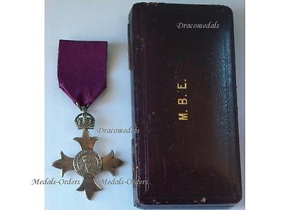 £418.81 • Buy Britain WW1 Member Order British Empire Medal MBE Decoration DATED 1917 Cross