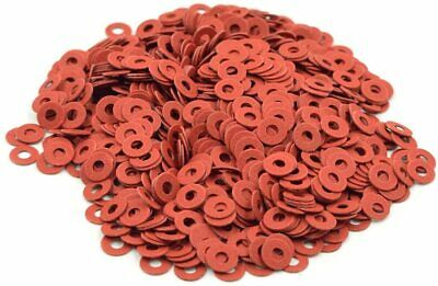 $2.50 • Buy 100 M2.5 6mm Insulating Fiber Washers Insulating Washers Spacer Red Paper Washer