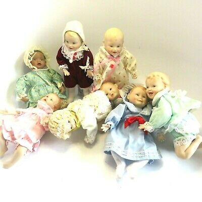 $ CDN145.19 • Buy Lot Of 8 Ashton Drake Yolanda Bello Picture Perfect Dolls