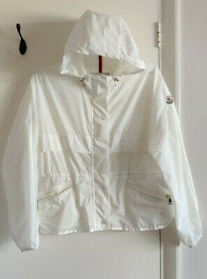 AU98.25 • Buy Windbreaker Jacket Womens Size 0(6/XS) White