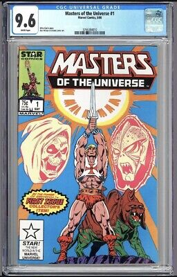 $195 • Buy Masters Of The Universe #1 CGC 9.6 WP 1986 3766384010 1st Issue!  He-Man!