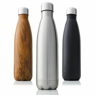 £28.77 • Buy 1000 Ml Double Wall Insulated Vacuum Flask Stainless Steel Water Bottle Thermos