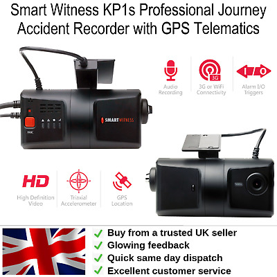 £249.95 • Buy Smart Witness KP1s Professional Journey Accident Recorder With GPS Telematics