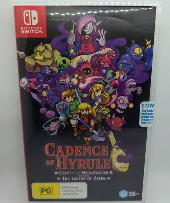 AU54.50 • Buy Cadence Of Hyrule Crypt Of The NecroDancer Ft Legend Of Zelda Switch Game NEW