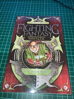 AU9 • Buy Fighting Fantasy #16 - Appointment With F.E.A.R. - Wizard Series 2 Paperback