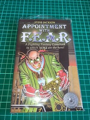 AU9 • Buy Fighting Fantasy #18 Appointment With F.E.A.R. - Wizard Series 1 Paperback