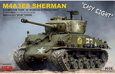 $56.95 • Buy Ryefield Models 1/35 Scale M4A3E8 Sherman W/ Workable Track Links
