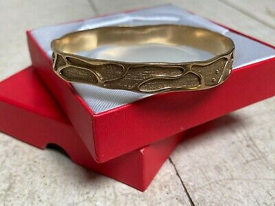AU690 • Buy Solid 9K Yellow Gold Bangle Stamped 375 - Approx. 15.6g
