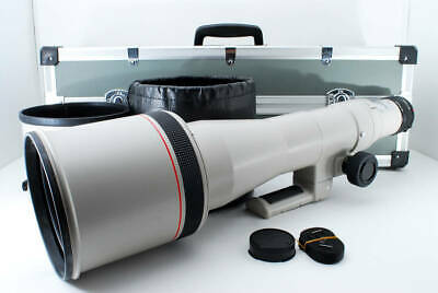 £1856.16 • Buy CANON Canon New FD NFD 800mm F5.6 L Super Telephoto Lens With Hard Case Free Shi
