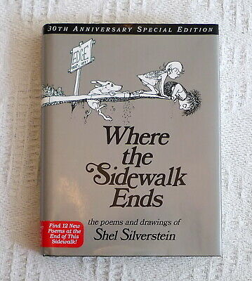 Where The Sidewalk Ends : Poems And Drawings, Hardcover By Shel Silverstein • 10£