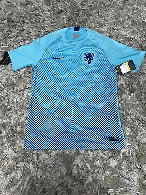 Bnwt Holland Away Shirt 2018/19 Nike Rare Authentic Small • 75£
