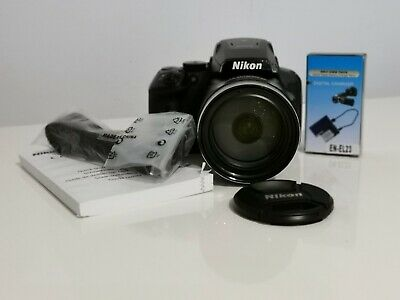 Nikon Coolpix P900 Camera With Battery, Charger + Instructions*ROYAL MAIL 1 DAY • 479.99£