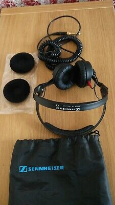 SENNHEISER HD-25 C II / Coiled Cable, Extra Ear Pads And Bag -  Made In Ireland • 75£