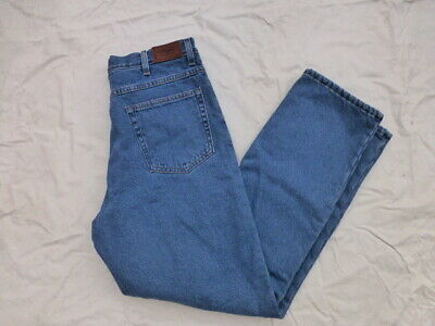 $29.90 • Buy MENS LL BEAN CLASSIC FIT FLEECE LINED JEANS SIZE 34x32 #5123