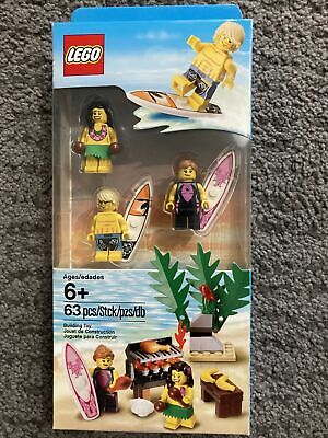 Brand New & Sealed LEGO Beach Minifigure Accessory Pack 850449 63 Piece Set • 18£