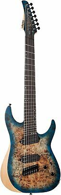 AU1223.81 • Buy Schecter Reaper-7 Multiscale 7-String Electric Guitar (Satin Sky Burst)
