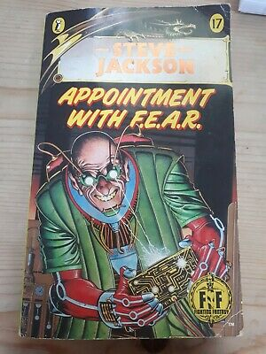 AU21.60 • Buy Appointment With F.E.A.R. Steve Jackson, Fighting Fantasy Puffin #17