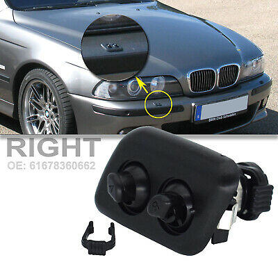 $8.99 • Buy Headlight Washer Nozzle Right For BMW E39 530i 540iT 528iT 525iT M5 Jet Sprayer