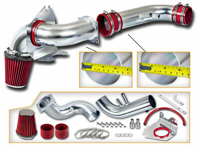 $47.85 • Buy Cold Air Intake Induction Kit + Dry Red Filter For 96-04 Ford Mustang 4.6L V8